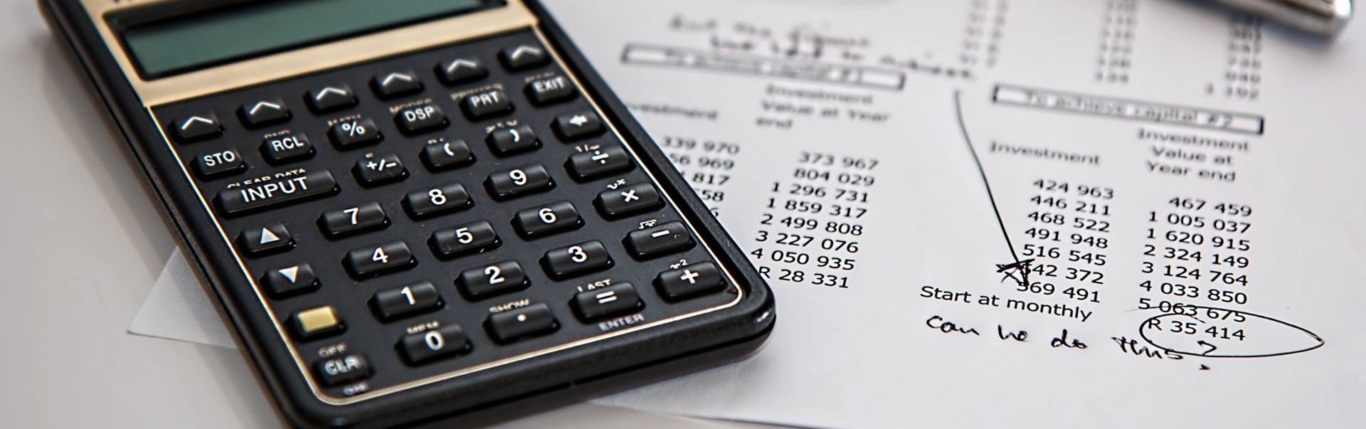 Pensions, investments and tax claims